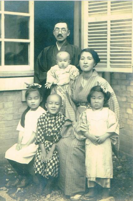 父の家族写真